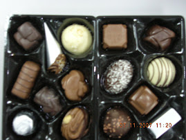Coklat Harijadi - nampak cantik & sedap tapi tak dpt makan (ada alcohol)