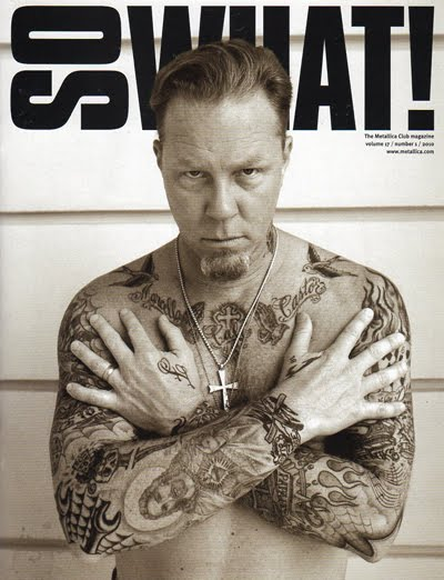 JAMES HETFIELD STRAIGHT EDGE TATTOOS