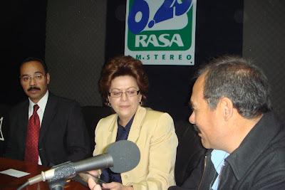 Cuarta foto durante la entrevista