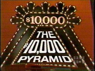 10000 pyramid game show celebrities
