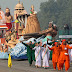 Full Dress rehearshal of the Republic Day celebrations 2010 at Rajpath New Delhi