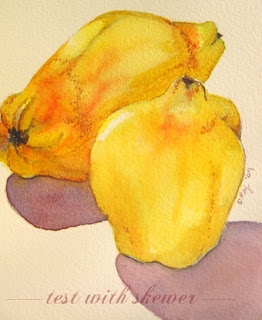 quince illustration