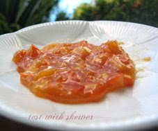 persimmon glaze