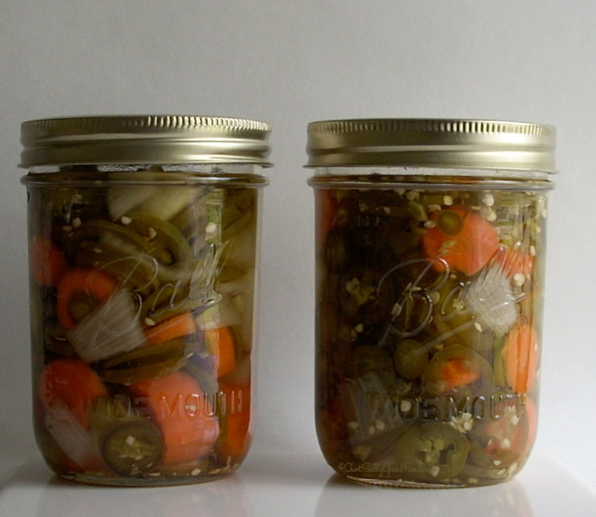 pickled peppers 1 ½ pound sliced jalapeno peppers 1 pound