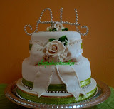 WEDDING FONDANT 2TIERS