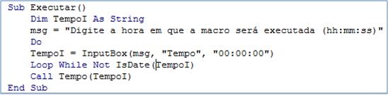 macro,código, geral relatório
