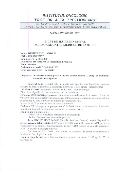 Documente medicale