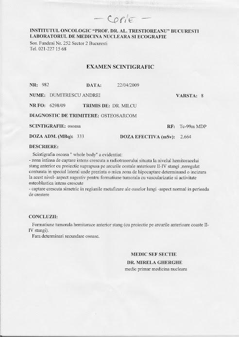 Ultimele documente medicale