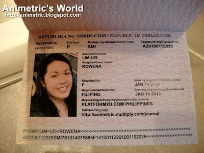 Smilds passport