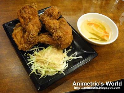 Japanese Fried Chicken at Yoshinoya
