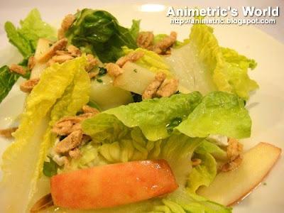 Waldorf Salad in Honey Calamansi Vinaigrette at Angel's Kitchen