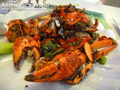 Salt and Pepper Crab at Penang Hill