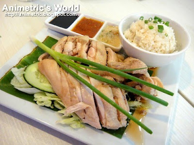 Hainanese Chicken Rice at Penang Hill