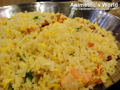 Yang Chow Fried Rice at The Cantonese Soup Kitchen