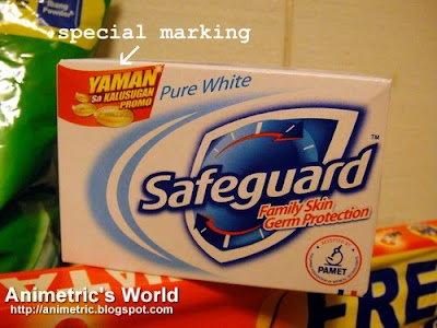 Specially marked Safeguard