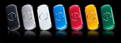 Sony Playstation Portable PSP in different colors