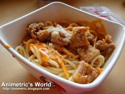 KFC Creamy Tomato Pasta Bowl