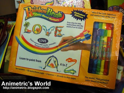 RainbowBrush Alphabet Edition Set