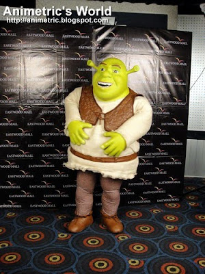 Meet and Greet Shrek at Eastwood 3D Digital Cinema