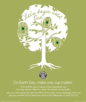 Earth Day at Starbucks