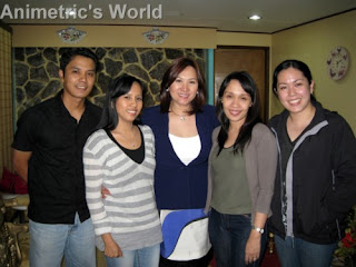 Group photo with fellow bloggers and Ms. Marissa Del Mar