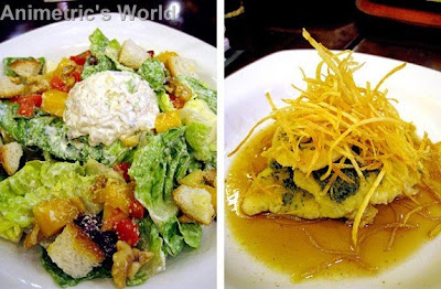 Ticky Wacky Chicken Salad and Pescado Al Fresco at Bigby's Cafe and Restaurant