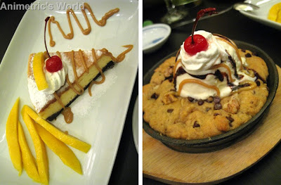 Japanese Cheesecake and Deep Dish Chocolate Chip Cookies at Nama Sakana