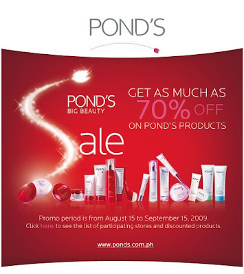 Pond's BIG Beauty Sale!