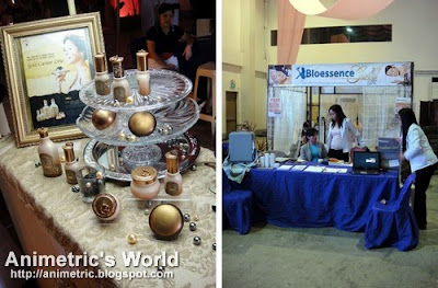 Skin Food and Bioessence booth at Skycable Vanity Fair 2