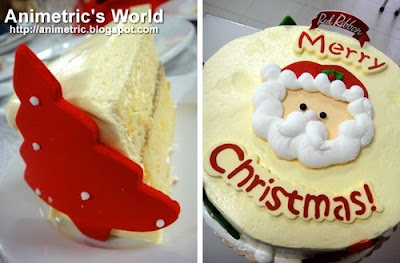 Red Ribbon's Santa's Wish Cake