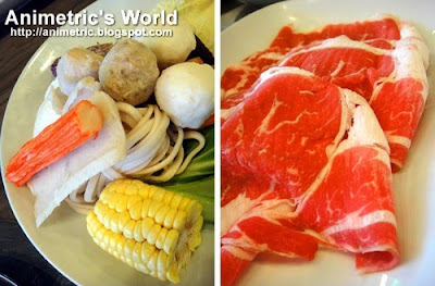 US Angus Beef Set at Healthy Shabu-Shabu