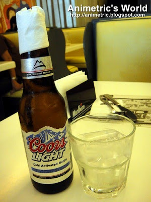 Coors Light at Butter Diner