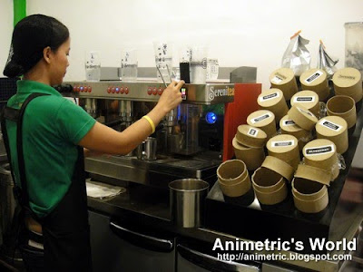 Brewing teas at Serenitea
