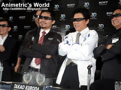 Manny Pacquiao and Takao Kuroda