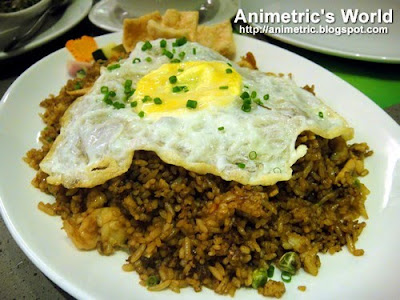 Nasi Goreng at Asya Restaurant