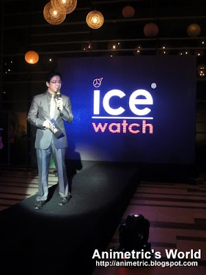 RJ Ledesma hosts the Ice Watch launch event