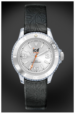 Flower Black Ice Watch