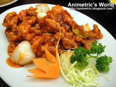 Sweet and Sour Pork at King Chef