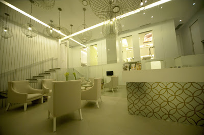 Reception area at Skin by The Spa, Fort Bonifacio Global City