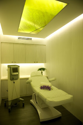 Treatment room at Skin by The Spa