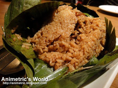 Adobong Puso Rice at Gerry's Grill