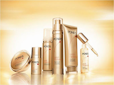 Pond's Gold Radiance Anti-aging line