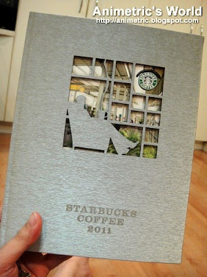 Metal Starbucks 2011 Planner