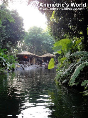 Jungle River Cruise at HK Disneyland