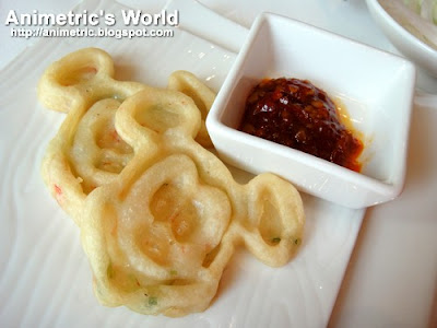 Mickey's Seafood Glutinous Pancake at Crystal Lotus, Hong Kong Disneyland Hotel