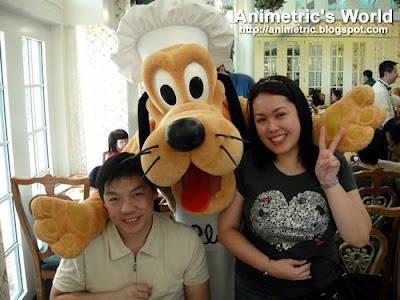 Character breakfast at Enchanted Garden Restaurant, Hong Kong Disneyland Hotel