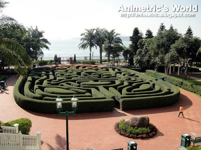 Mickey's Maze at Hong Kong Disneyland Hotel