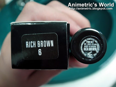 Bobbi Brown Natural Brow Shaper and Hair Touch Up in Rich Brown
