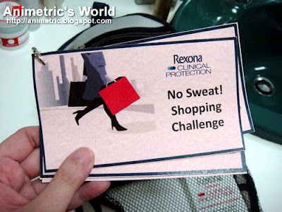 Rexona Shopping Challenge
