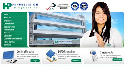 Hi-Precision Diagnostics site